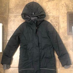 Ivivva Black Coat size 7